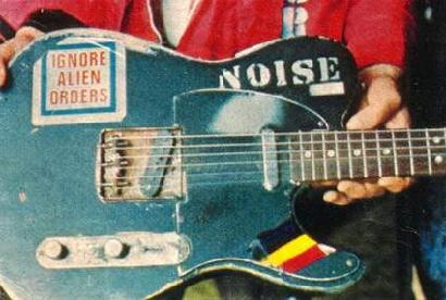 A Tribute To Joe Strummers Fender Telecaster Guitar